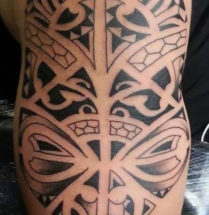 Polynesian tattoo door Dutchink