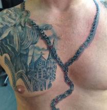 ketting tatoeage by Dutchink