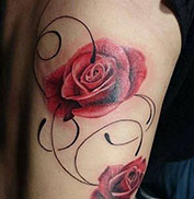 Artikel over Bloemen tattoos