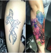 Cover up onderarm