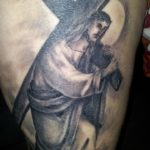 Jezus met kruis