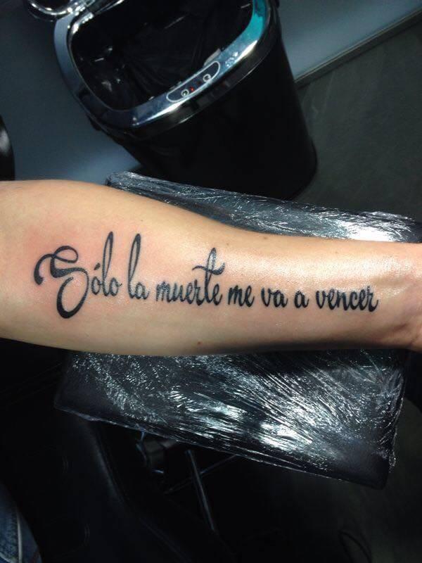Super Tattoo teksten | Dutch Ink RQ-12