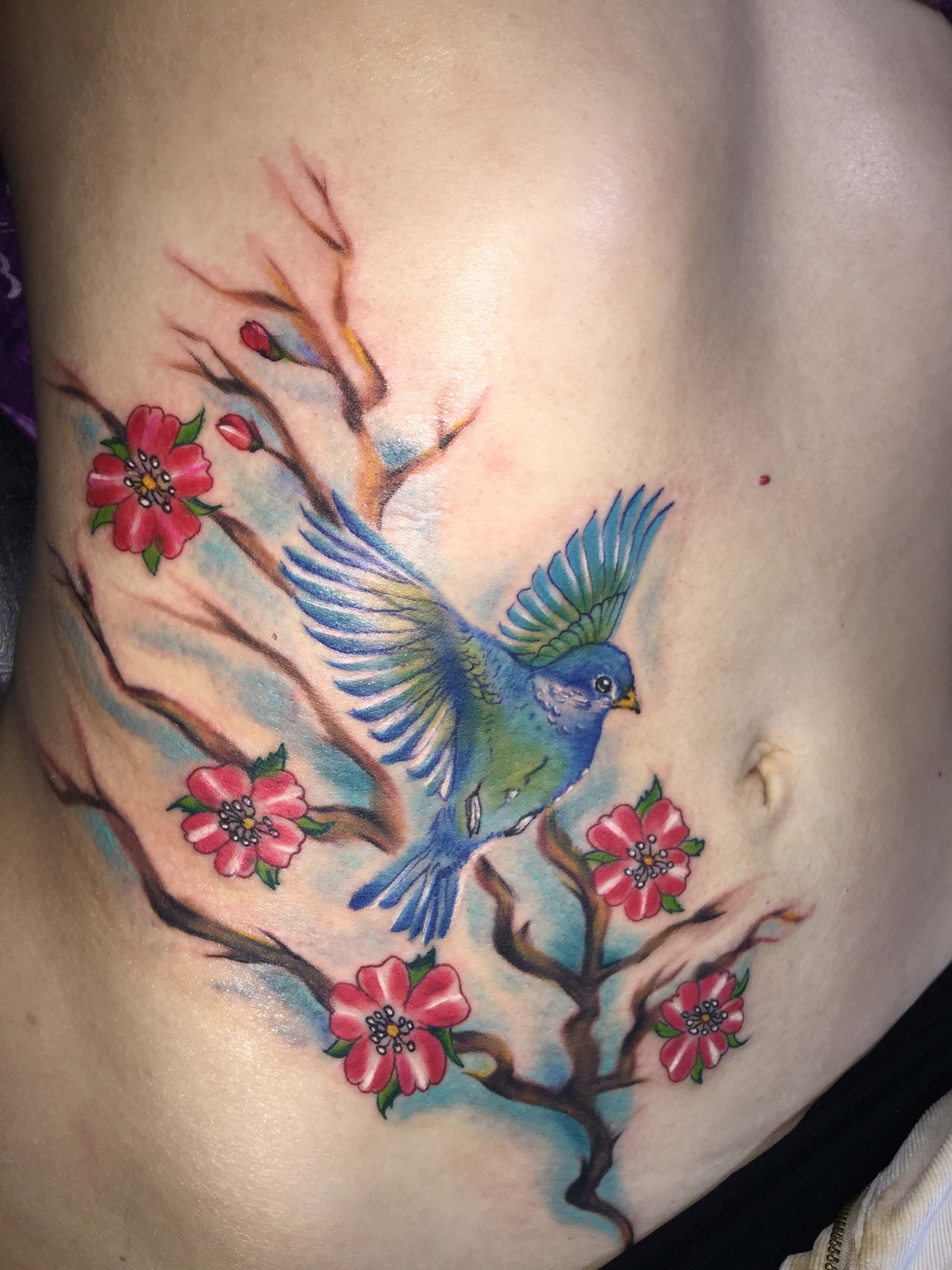 Wonderbaar Vogel tattoo   Dutch Ink TY-62