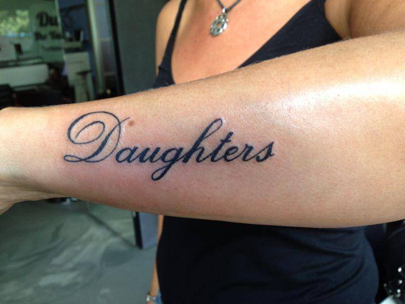 Nieuw Tattoo letters | Dutch Ink XM-02
