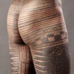 Samoa tattoo gehele onderlijf
