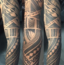 Artikel over polynesische tattoos