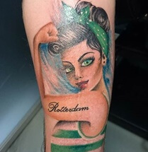 Artikel over pin up tattoos