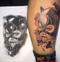 Catwoman op kuit