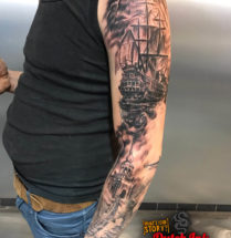 Piraten sleeve